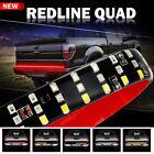 48 3 Row 321 Led Strip Tailgate Light Bar Truck Reverse Brake Signal Tail Lamp