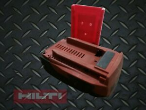 **2 Pack** RED Hilti B18 B22 18V 22V Locking Battery Holder Mount