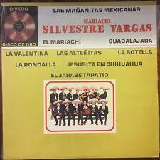 MARIACHI MONUMENTAL DE SILVESTRE VARGAS LAS MAÑANITAS MEXICANAS MEXICAN 1986 LP