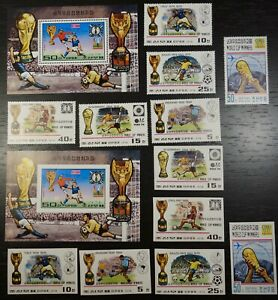 Korea, 1978 Soccer, Football World Cup, perf & imperf, MNH (704)