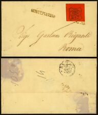 Vatican 1867 - Cover to Roma 23951