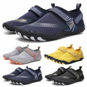 Unisex Mens Womens Sports Aqua Shoes Quick Dry Slip-On Swim Surf Wet Beach Shoes