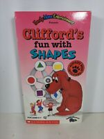 Clifford's Fun With Shapes VHS