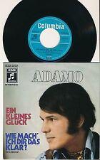 """ADAMO 45 TOURS 7"""" GERMANY EIN KLEINES GLUCK"""
