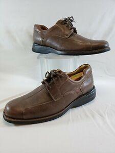 Johnston & Murphy Sheepskin Men's Shoes Size 10 1/2 M Brown Casual  New