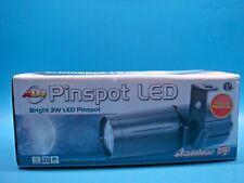 (1) AMERICAN DJ PIN222 PINSPOT 3W WHITE LED LIGHT 6 & 12 DEGREE BEAM ANGLES