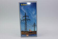 Kibri 38533 4 Poteaux Électriques 1:87 H0 Neuf Emballage D'Origine