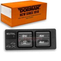 Dorman 4WD Switch for Chevy K2500 Suburban 1998-1999 - 4 Wheel Drive qf