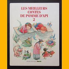LES MEILLEURS CONTES DE POMME D'API 2 dix-neuf contes 1993