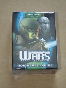 Wars TCG Nowhere to Hide Overlords Starter Deck New & Sealed