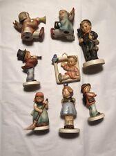 ~ Vintage! German Lot Of 8 Vintage Goebel Hummel Doll Figurines ~