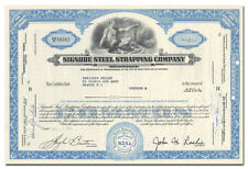 Signode Steel Strapping Company Stock Certificate