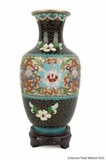 China 20. JH. a Chinese Cloisonne Enamel Vase-Vaso cinese jarrón Chino Chinois