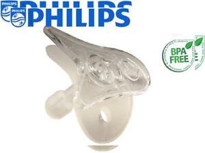 Wee Thumbie Philips Clear Preemie Pacifier Gestational Age Binky, Clear