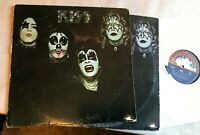 KISS s/t debut 1st NB 9001 1974 without kissin lp w/kissin' time cover MISMATCH!