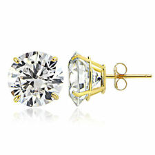 Heat & Pressure Cubic Zirconia Fine Earrings