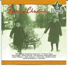 Spirit of Christmas CD 2 Discs 30 Songs Holiday Party Music
