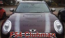 Streifen Stripes Aufkleber Motorhaube für MINI COOPER F54 CLUBMAN One Works Jack