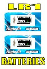 2 x LR1 AM5 E90 LR01 N MN9100 UM5 1.5V Batteries