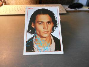 Johnny Depp ++ Bravo-Autogrammkarte ++ AK ++ TOP ++ 1 ++