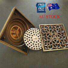 AU Kitchen Bathroom Shower Floor Sink Drain Outlet Waste Grate Strainer Cover