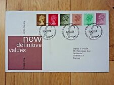 DEFINITIVE STAMPS JANUARY 1982 FIRST DAY COVER