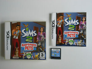 THE SIMS 2 APARTMENT PETS * NINTENDO DS GAME / LITE / DSi . 100% GENUINE