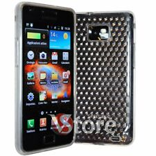 Cover Custodia Trasparente Per SAMSUNG Galaxy S2 2 II I9100 + Pellicola Display