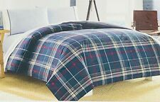 Nautica Booker Duvet Cover Full/Queen in Plaid Blue Gray