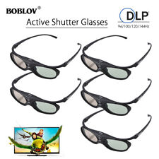 5PCS Active Shutter 3D Glasses Universal for Epson/Sony/Samsung 3D HD Projector