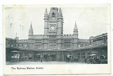 BRISTOL - RAILWAY STATION (TEMPLE MEADS)  1905 Postcard
