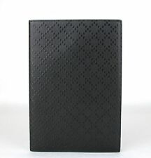 Gucci Black Hilary Lux Diamante Leather Notebook Cover and Paper Pad 247262 1000