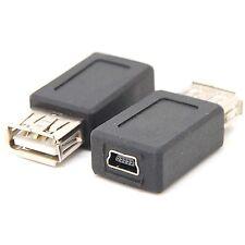 10pcs USB 2.0 female Standard Type A to Micro USB Female Adapter ADAPTOR