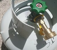 LPG Tank & BBQ Bottle adaptor - Fits 9Kg-45 Kg Fill For Less Than 1/2 the Price!