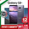 *SMARTPHONE SAMSUNG GALAXY S8+ PLUS 64GB SM-G955 12 MESI GAR.ITALIA G955U G955F