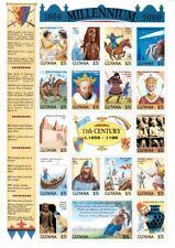 Guyana - Millennium stamps - 11th Century History MNH