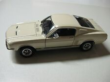 WELLY 1967 FORD MUSTANG GT DIECAST CAR MODEL W/O BOX NEW!