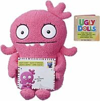 "Hasbro UglyDolls ""YOURS TRULY"" MOXY Stuffed Plush Soft Toy 10"" Tall (Pink)"