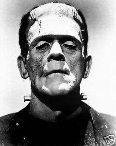 Boris Karloff actor as Frankenstein's monster Glossy Photo print  A4 or A5