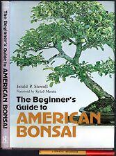 1 1/2lb Beginner's Guide to AMERICAN BONSAI EC 1st Ed 1978 hardcover w/jkt