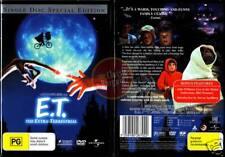 E.T. THE EXTRA-TERRESTRIAL Drew Barrymore=Spielberg NEW (Region 4 Australia)