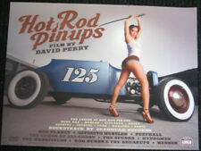 Hot Rod Pinup Girls DVD Movie Poster Gearhead Records Garage Punk David Perry