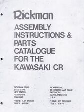 1975 Rickman CR Kawasaki Z1 parts & assembly book COPY