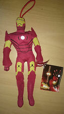 Iron Man Plush Soft Toy Avengers Marvel Disney Approx 8 inches Tall New With Tag
