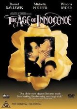 The Age Of Innocence (1993) Daniel Day Lewis - NEW DVD - Region 4