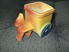 USA NO. 538 - Vintage Pottery Planter - Donkey and Wagon