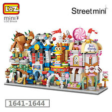 LOZ City Street Video Game Room Candy Food Shop DIY Mini Blocks Building Toy 4pc