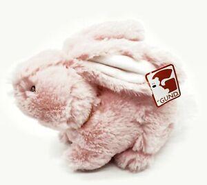"Gund Pink Bunny Rabbit Stuffed Animal Plush Toy 8"" Easter"