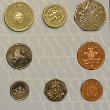 1994 UNCIRCULATED UK anno set BU 8-coin ROYAL MINT pacco incl D-DAY 50P & boe £ 2