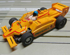 For H0 Slotcar Racing Model Railway Indy Pennzoil With Tyco Engine